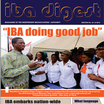 IBA Digest 1st  Edition of 2016